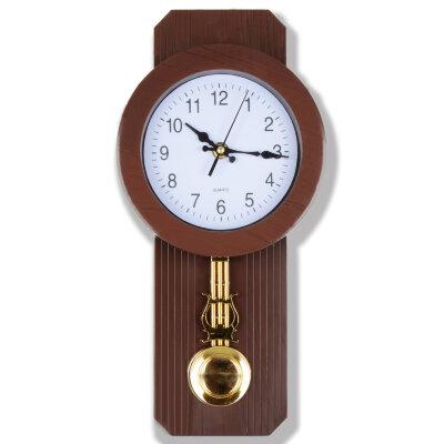 """Часы с маятником настенные кварцевые 13х36 см MAXTRONIC MAX-8805D """"Лондон"""""""