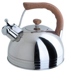 Чайник Люкс со свистком 3.8 л 93-2503B.2 из нержавеющей стали