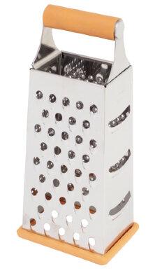 Терка четырехгранная ручная кухонная Regent 93-AC-GR-22 нержавеющая сталь 23 см