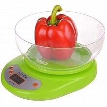 Весы кухонные с чашей электронные до 5 кг MAXTRONIC MAX-1811B точность до 1 г