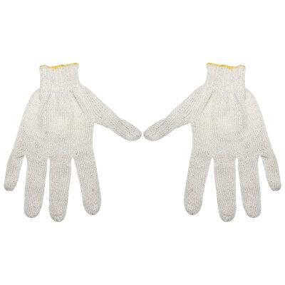 """Перчатки рабочие х/б для хозяйственных работ """"Эконом"""" 7,5-8 класс, 3 нити"""