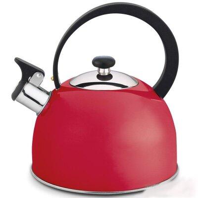Чайник на плиту 2.5 л Opera Mallony со свистком Красный