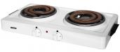 Мечта 211Т БЕЛАЯ Плита электрическая настольная 2-х конфорочная, 2.0 кВт