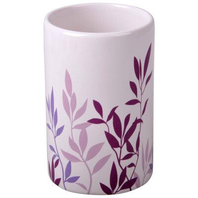 "Стакан для ванной комнаты ""Полынь"" TU-POL керамика"