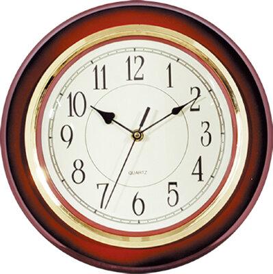 Часы круглые настенные 31 см MAXTRONIC MAX-9555C кварцевый механизм пластик