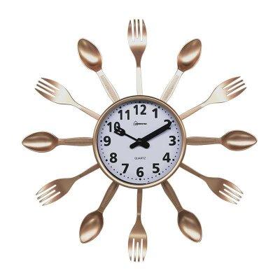 Часы настенные HOMESTAR HС-14 кварцевый механизм Ложки Вилки 35x3.8 см