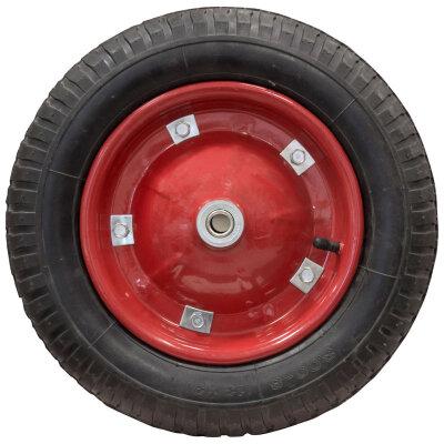 Колесо для тачки 3.00-8 надувное диаметр 330 мм ширина 7 см