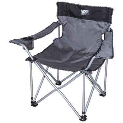 Кресло походное складное 51х51х24/70 см ECOS с подлокотником