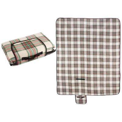 Коврик для пикника флисовый непромокаемый ECOS PR-49F 150х180 см с влагостойкой основой