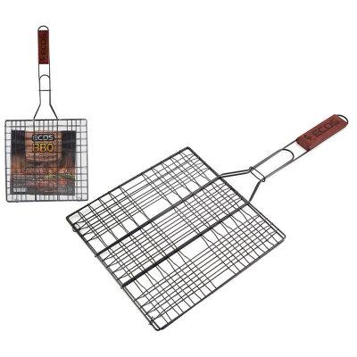 Решетка гриль X-382-NSD ECOS 6 секций, 25х25 см с антипригарным покрытием , общая длина 54 см