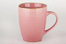 Кружка керамическая 320 мл Розовые мечты арт. 74960011 Коралл бочка