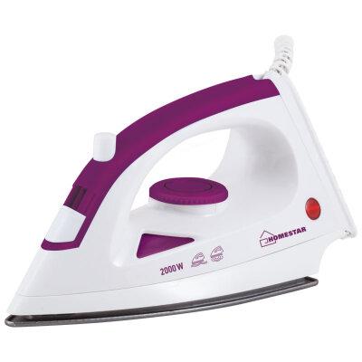 Утюг с тефлоновым покрытием 2000 Вт HomeStar HS-4001V Цвет Фиолетовый с белым
