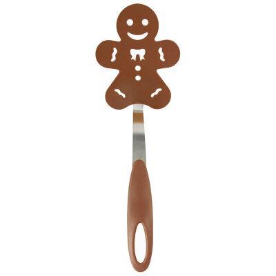 """Лопатка для блинов PT-Gingerbread 27х9.3 см декоративная """"Пряничный человечек"""""""