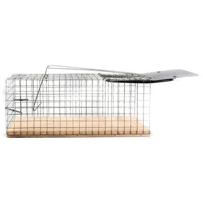 Крысоловка клетка ловушка для крыс 27х13х1 см гуманная
