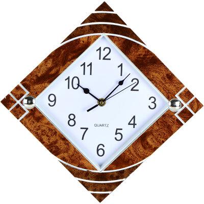 Часы настенные РОМБ 24х24 см MAXTRONIC  MAX-8853 кварцевый механизм