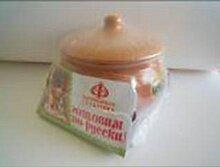 Горшок для запекания жаркого 1.3 л глиняный
