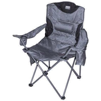 Кресло для карповой рыбалки складное с подлокотниками 62х48х49/101 ECOS до 130 кг