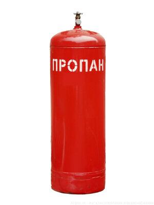Баллон под пропан стальной 50 литров с вентилем ВБ-2, Беларусь
