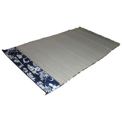 Пляжный коврик складной соломенный ECOS BM-04S 90х180 см в тканевом чехле с плечевым ремнем