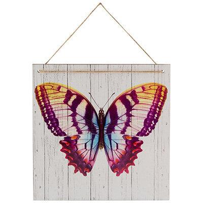 Табличка для интерьера Бабочка ИТ-023