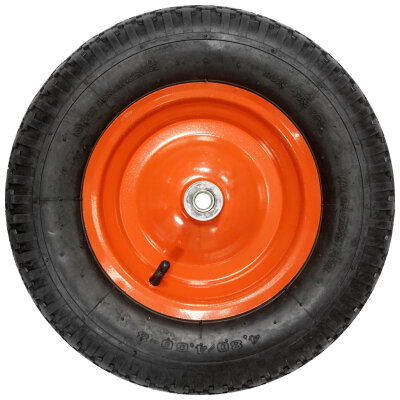Колесо для тачки 4.8/4.00-8 диаметр 380 мм модели WB5101 ширина 8.5 см