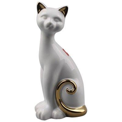 Фигурка керамическая Кошка  9x7x19.5 см декоративная