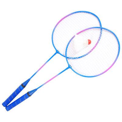 Набор для игры в бадминтон BdSet-01 ECOS 2 ракетки + волан, Упаковка: сетка