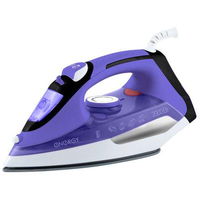Утюг с керамическим покрытием ENERGY EN-314 фиолетовый 2000 Вт самоочистка, паровой удар