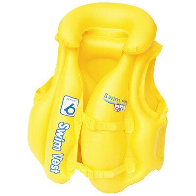Bestway 32034 Жилет для плавания Swim Safe, для детей 3-6 лет, 51x46 см