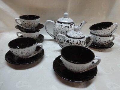 Сервиз керамический чайный Элегант