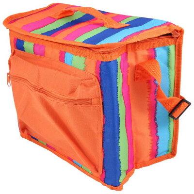 Сумка термос холодильник для еды на 13 л ECOS ML26-13L 31х18х24 см, оранжевая