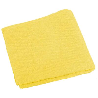 Салфетка из микрофибры 30х30 см Рыжий Кот M-02-Y, цвет: желтый
