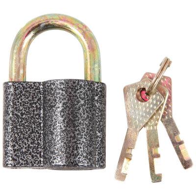 PARK Ч/50 Замок навесной 50 мм металлический с полукруглыми ключами