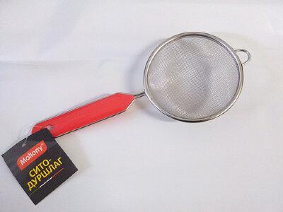 Сито Mallony SDP-10 дуршлаг 10 см с пластиковой ручкой