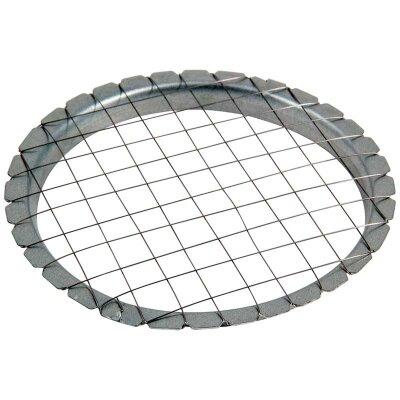 Овощерезка сетка круглая для нарезки кубиками 8.6 см Mallony в металлическом корпусе