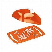 Масленка пластиковая Премьера оранжевая М2211 Альтернатива 185x118x67 мм