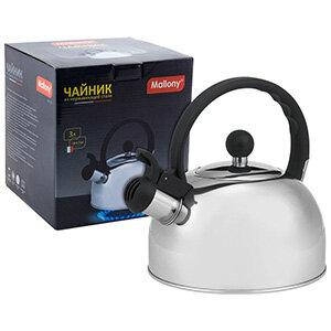 Mallony DJA-3033 Чайник для плиты со свистком 3 л капсульное дно