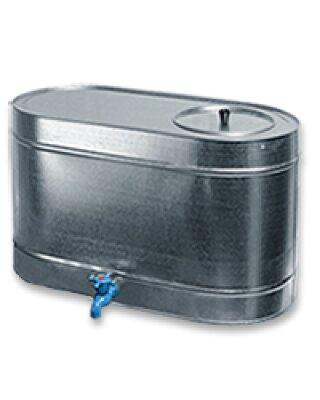 Бак оцинкованный 75л для воды с краном, 67х33х40 см