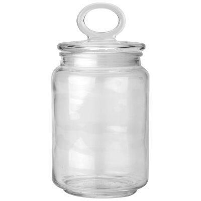 Банка стеклянная 0.9 л Mallony COPPETTA с крышкой для сыпучих продуктов