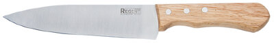Нож шеф поварской 31 см Regent 93-KN-CH-1 с деревянной ручкой