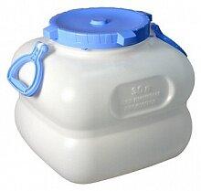 Фляга пищевая для воды 30 л ГРАНДЕ С909/С902 с ручками