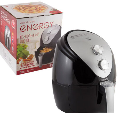 ENERGY EN-288 Мультипечь 2.6 литра 1350 Вт антипригарное покрытие чаши