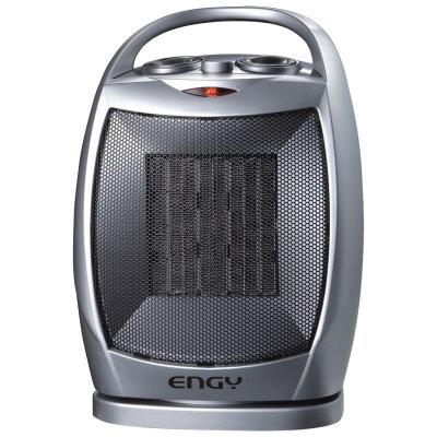 Керамический тепловой вентилятор настольный 1500 Вт Engy РТС-308B с функцией вращения корпуса