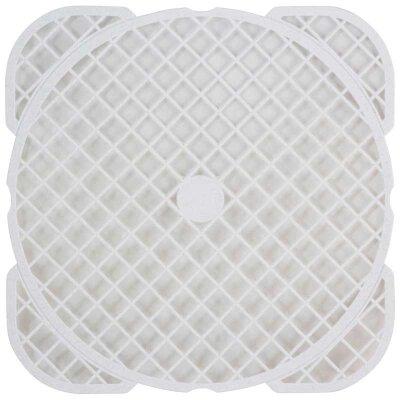 Решетка для раковины пластиковая 40х40 см квадратная