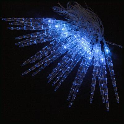 """Светодиодная гирлянда постоянного свечения """"Сосульки"""" LED-I-20-3-B теплый голубой цвет, 20 LED, 3 метра"""