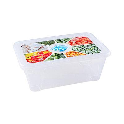 Пластиковый контейнер 0.4 л 77106 прямоугольный 14х9.5х5 см