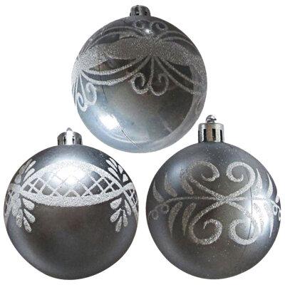 Набор из 3-х шаров на елку 6 см SYCB17-443