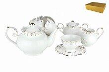 Набор чайный фарфоровый 15 предметов Клеопатра