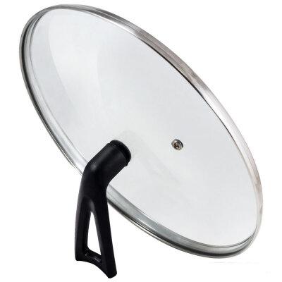 Крышка стекло 22 см Mallony VETRO-SPECIAL с бакелитовой ручкой, для сковороды