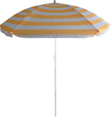 Пляжный зонт от солнца ECOS BU-64 диаметр 145 см, складная штанга 170 см